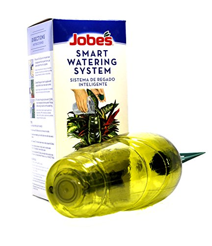 Jobe's Smart Watering System, Keeps Plants Watered Up to 3 Weeks (Automatic Watering System Perfect for Vacation Plant Watering) (Planter Terra Bulb)