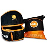 Moses Fit Weight Lifting Belt, Crossfit Belt, Weightlifting Belt Men & Women - Total Core Support Weight Belt All Skill Levels
