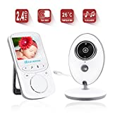Cheap Baby Monitor Video Baby Monitor IR Wireless Camera with Night Vision Temperature Monitoring Two Way Talkback Video Baby Monitor 2.4″ TFT LCD Display