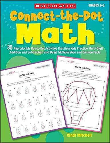 Amazon.com: Connect-the-Dot Math: 35 Reproducible Dot-to-Dot ...
