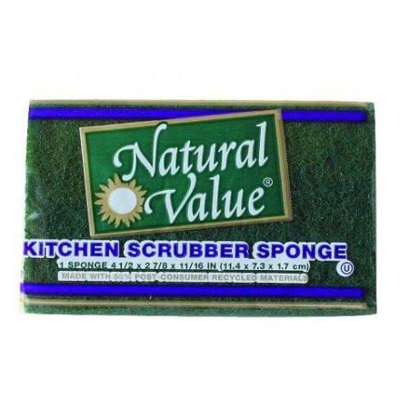 Natural Value Kitchen Scrubber Sponge