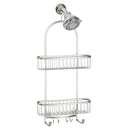 Beau InterDesign York Extra Large Shower Caddy   Bathroom Storage Shelves For  Shampoo, Conditioner And Soap