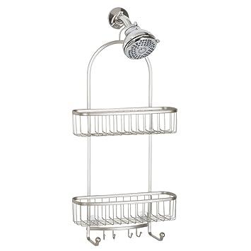 Elegant InterDesign York Extra Large Shower Caddy   Bathroom Storage Shelves For  Shampoo, Conditioner And Soap