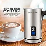 MatchaDNA Premium Automatic Milk Frother, Heater