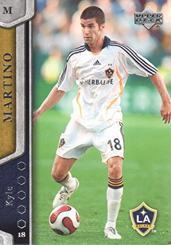 2007 Upper Deck MLS Soccer #68 Kyle Martino Los Angeles Galaxy