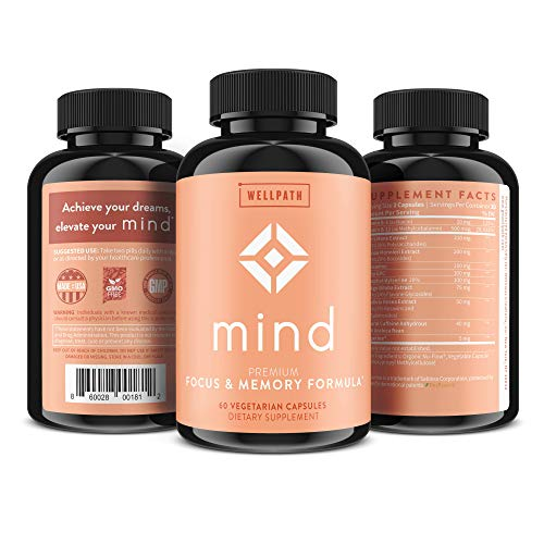 WellPath Mind & Brain Supplement-Natural Formula