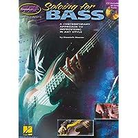 Soloing for Bass (Book/CD). Para Guitarra Bajo, Guitarra