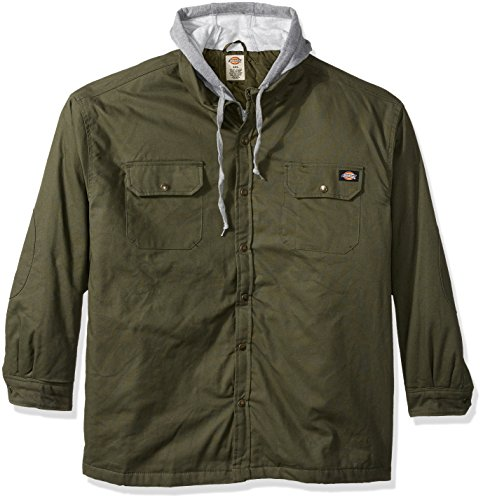 Nice Dickies Men's Canvas Shirt Jacket with Quilted Lining supplier