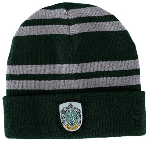 Slytherin House Beanie (Costume Shops In Colorado Springs)