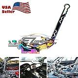EZAUTOWRAP Neo Chrome Hydraulic Racing Hand E Brake Drift Rally Drifting Handbrake Aluminium Lever HB05
