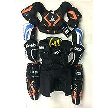New junior medium protective ice hockey equipment set