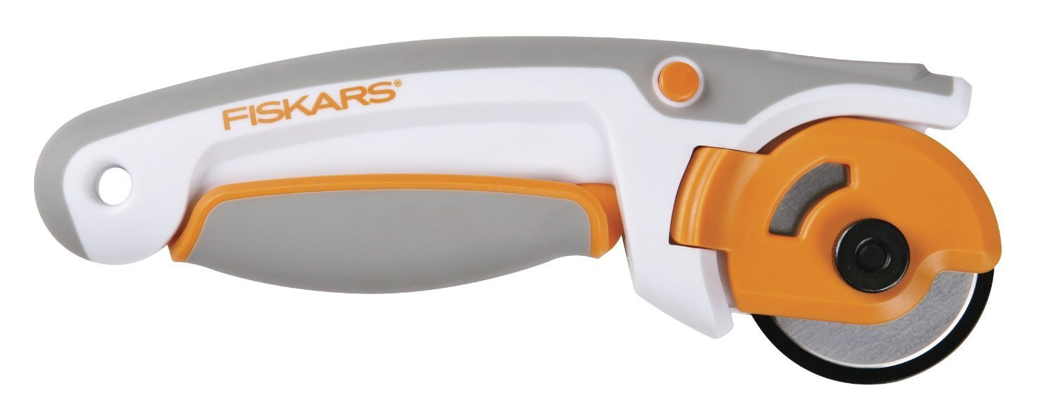 Fiskars 45mm Easy Change Ergo Control Rotary Cutter (197990-1001)(2Pack) by Fiskars