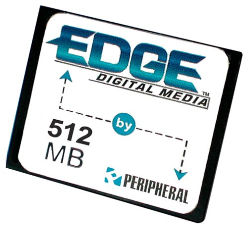 Peripheral Enhancements 512 MB Edge CompactFlash Card - Edge Premium Compactflash Card
