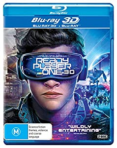 Ready Player One 3D (Blu-ray 3D/Blu-ray) from Roadshow