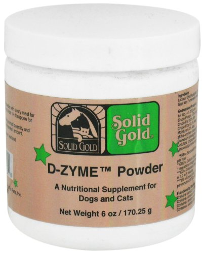 Solid Gold – D-ZYME Powder For Cats and Dogs – 6 oz., My Pet Supplies