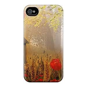 Awesome VlnWeUB4250tmizR HHaroldshon Defender Tpu Hard Case Cover For Iphone 4/4s- Autumn Put Together