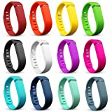 Replacement Bands with Metal Clasps for Fitbit Flex Wireless Activity Plus Sleep Tracking Bracelet Sport Wristband Sport Arm Band Pedometer