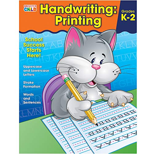 Handwriting: Printing (Brighter Child: Grades K-2) from imusti