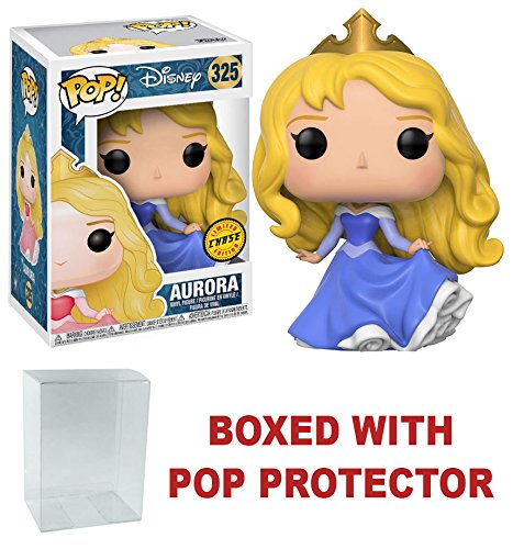 Sleeping Beauty Aurora CHASE - Funko Pop Disney Collectible Vinyl Figure + Pop (Aurora Blue Dress)