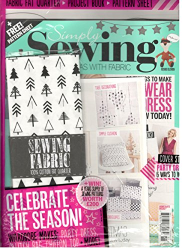 - Simply Sewing Magazine # 11 (Direct Edition W/Free Gifts)