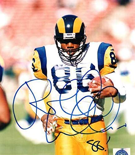 Autographed Signed Roland Williams 8x10 Photo St Louis Rams - Certified Authentic