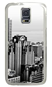 Samsung Galaxy S5 Case Cover - The Future Of The City Custom Design Polycarbonate Hard Case for Samsung Galaxy S5 - Transparent