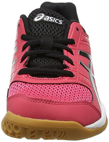 White Rouge Shoes Red Red 1990 Black 8 Gel Rocket Asics Volleyball Women's w6qxg0Sn4v