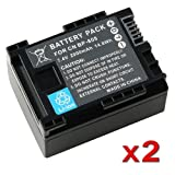 Insten (2 Pack) Compatible BP-808 Decoded Li-ion Battery for Canon VIXIA HG 20 / HG 21