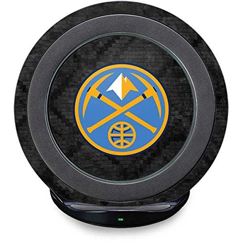 Denver Nuggets Fast Charge Wireless Charging Stand Skin - Denver Nuggets Dark Rust | NBA X Skinit (Nugget Pedestal)