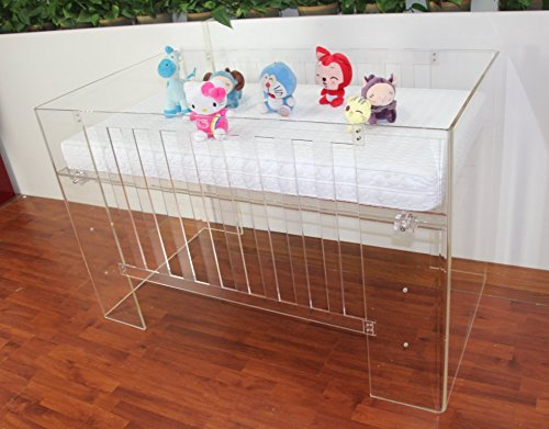 Fashionable clear acrylic baby bed