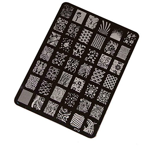 Stamping Printing Plate Manicure Nail Art Decor 14.5x10.5cm - 5