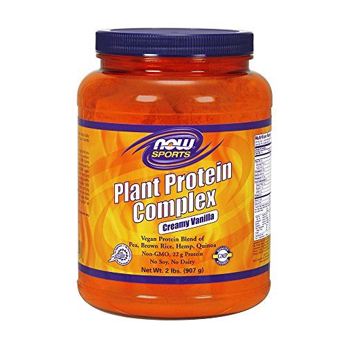 Foods Rice Protein (Now Foods Plant Protein Complex, 2 Pound)
