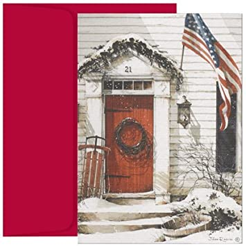 patriotic christmas boxed christmas cards - Patriotic Christmas Cards