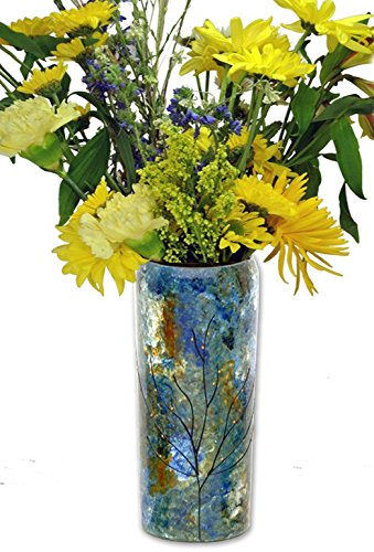 Amazon.com: Sand and Water Creations Flower Vase Recycled Gl 7 ... on flower butterfly painting, flower wreath painting, flower window painting, bottle flower painting, flower bed painting, flower still life oil paintings, flower table painting, frame painting, flower mirror painting, flower box painting, flower vases with flowers, flower light painting, flower oil paintings christmas, candle painting, bird-and-flower painting, flower white painting, flower bowl painting, modern palette knife painting, flower stand painting, flower girl painting,