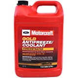 Genuine Ford Fluid VC-7-B Gold Concentrated Antifreeze/Coolant - 1 Gallon (Packaging may vary)