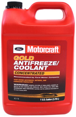 Used Ford F250 Diesel (Genuine Ford Fluid VC-7-B Gold Concentrated Antifreeze/Coolant - 1 Gallon)