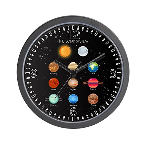 - Wall Clock Solar System Sun Moon and Planets