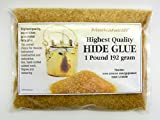 Hide Glue - Highest Quality 192 Gram for Musical Instruments and Fine Furniture by MusiCaravan