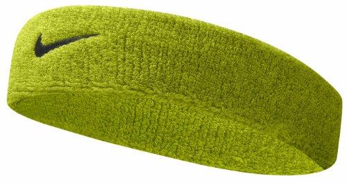 Nike Swoosh Headband (Atomic Green/Black, Osfm) by Nike (Image #1)