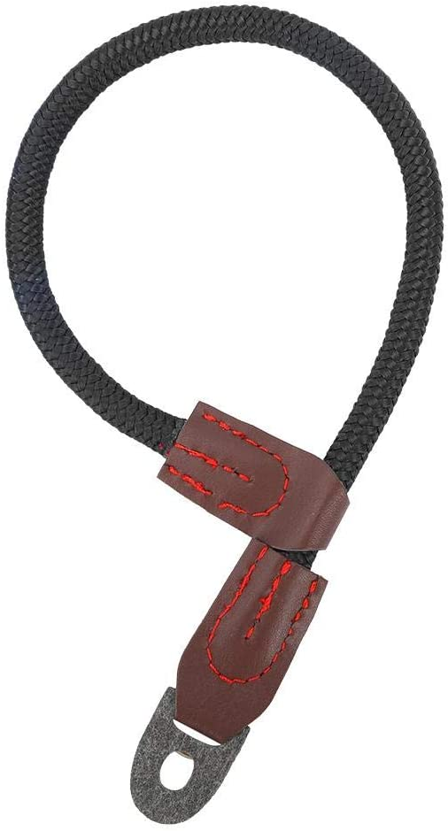 Black Mugast Nylon Lanyard Strap Rope,Multicolor Wrist Hand Strap Grip with Round Hole Interface for Leica for Fujifilm for Nikon Mirrorless Camera