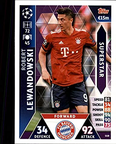 Amazon com: 2018-19 Topps UEFA Champions League Match Attax