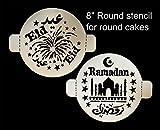 Eid Ramadan Round Stencil Set