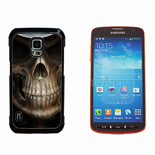Skull Devil Diablo Hard Plastic and Aluminum Back Case for Samsung GALAXY S5 Active G870