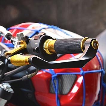 Yiwa Protezione per Le Mani per Kawasaki KTM MV Universale 22 mm Protezione per Manubrio della Moto