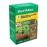 Rain Bird Drip Irrigation Raised Bed Garden Watering Kit