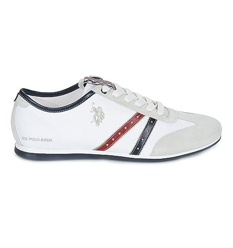 Zapatillas U.S. Polo Assn Nathan Blanco - Color - Blanco, Talla ...