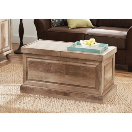 Coffee Table Crossmill Collection in Weathered