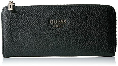 Guess Cate Slim Zip Wallet - Black - One Size