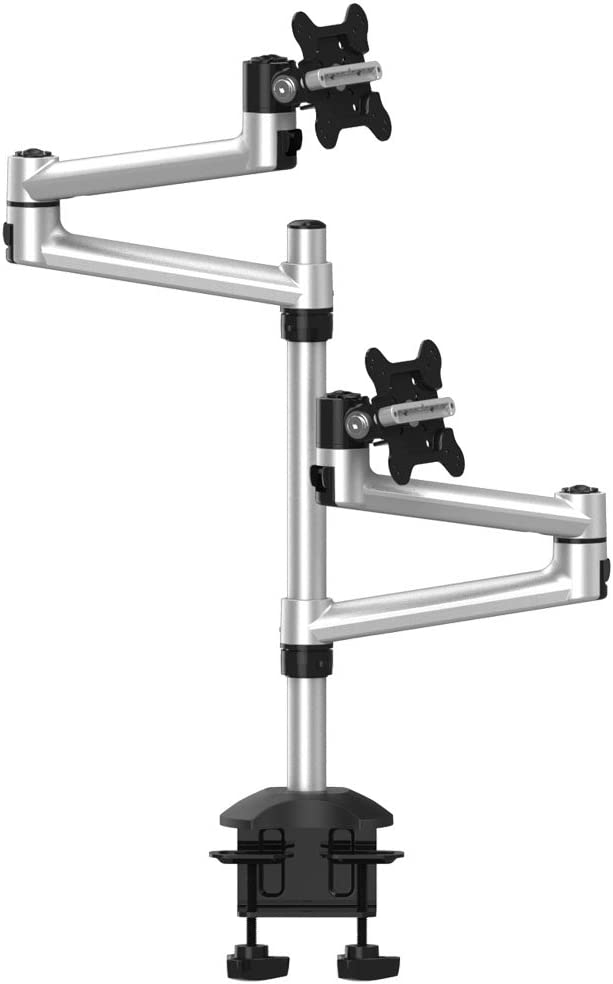 Cotytech Dual Monitor Desk Mount for Apple Top Down Quick Release (BL-AP19)