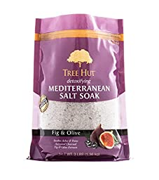 Tree Hut Detoxifying Mediterranean Salt Soak, Fig and Olive